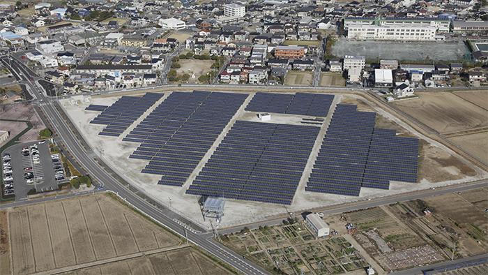 電気興業 依佐美太陽光発電所