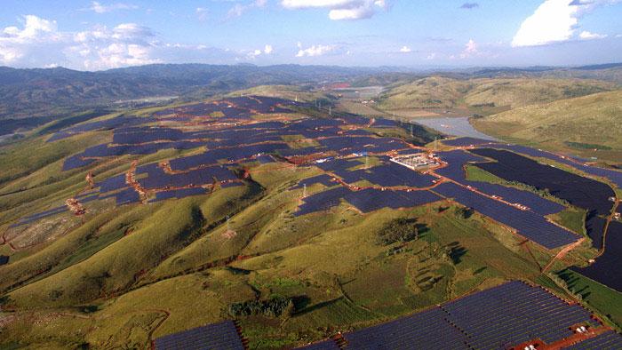 云南建水300兆瓦项目