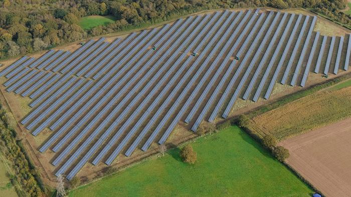 Fattoria solare Cadland Estate