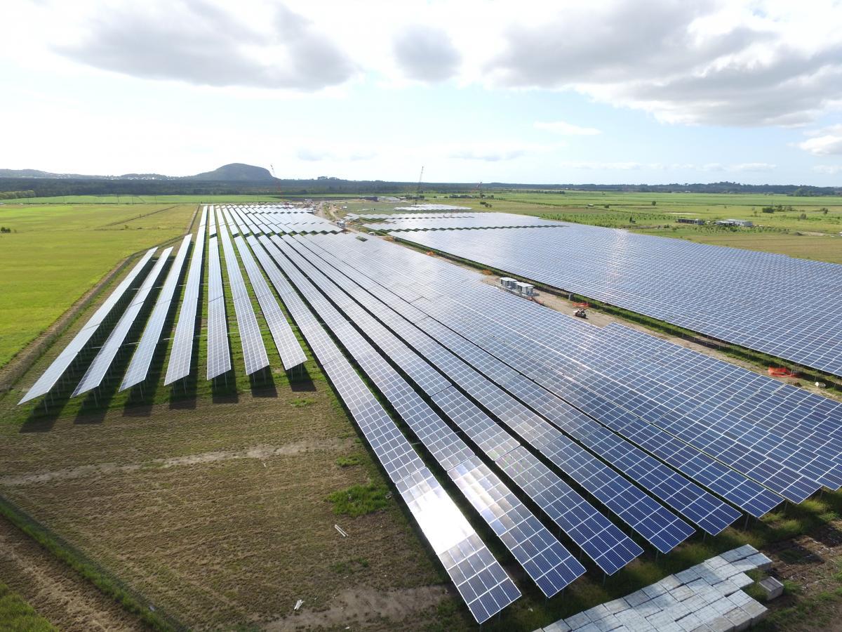 Trina Solar Panels Powers Sunshine Coast Solar Farm
