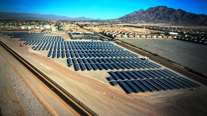 Las Vegas Water Pollution Control Facility Trina Solar