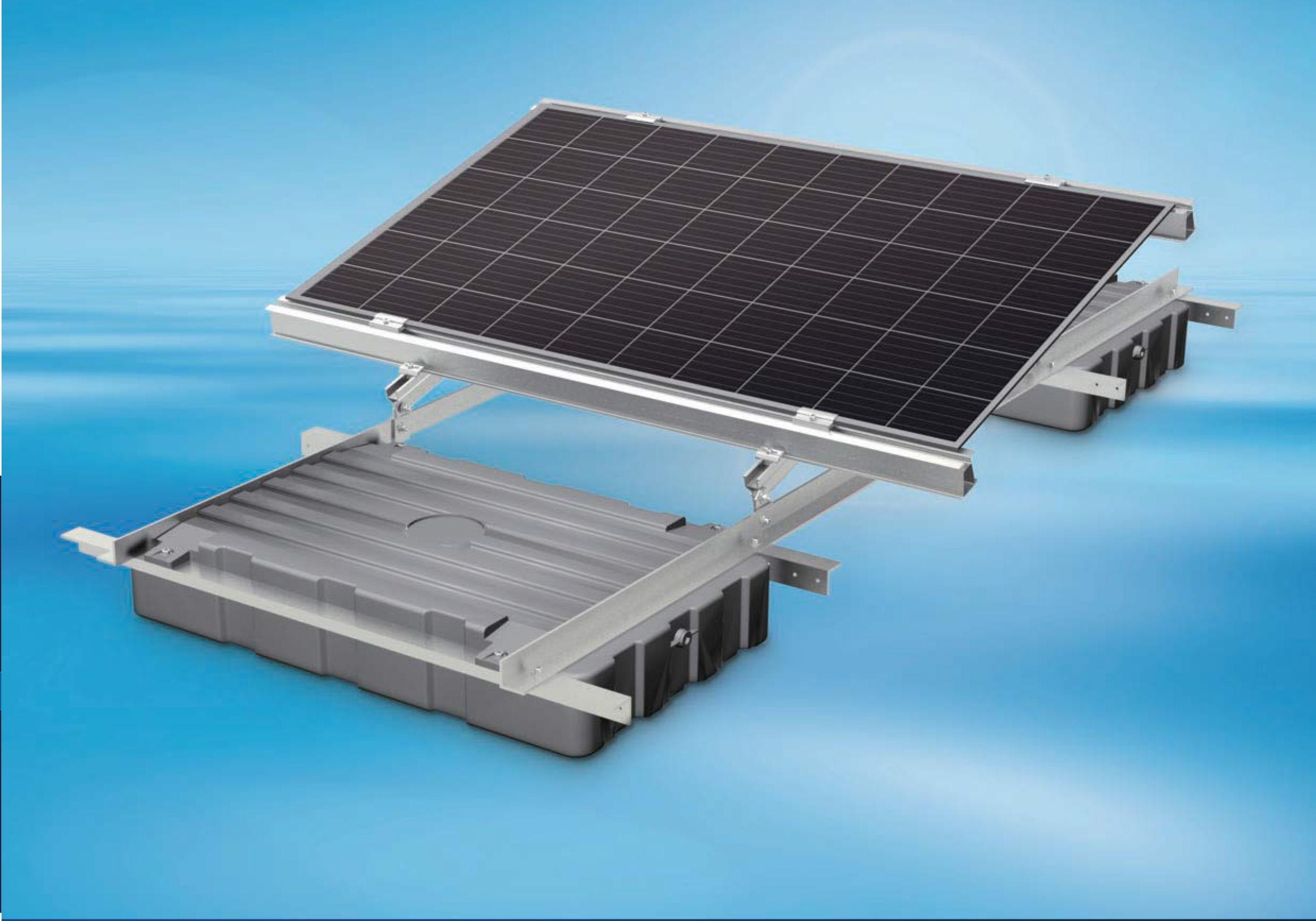 DUOMAX + フロート式架台のシステムパッケージ